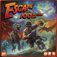 Escape from 100 Million B.C. - Board Game - The Dice Owl