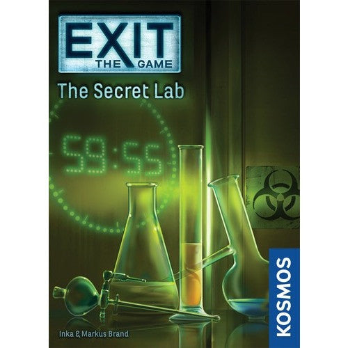 EXIT: The Secret Lab - Board Game - The Dice Owl
