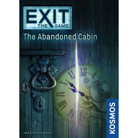 EXIT: The Abandoned Cabin - Board Game - The Dice Owl
