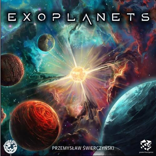 Exoplanets - Board Game - The Dice Owl