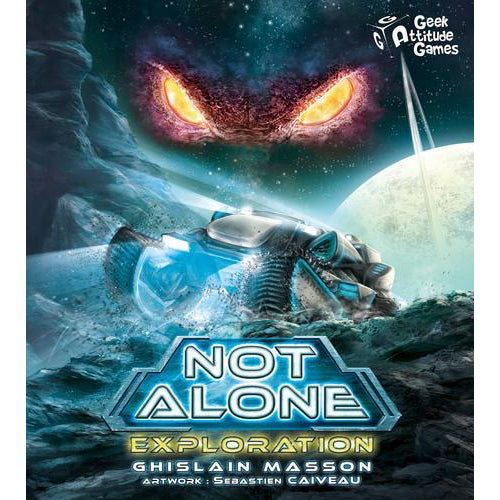 Not Alone: Exploration - Board Game - The Dice Owl