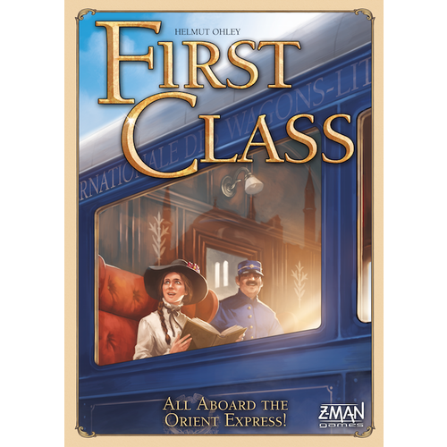 First Class - Board Game - The Dice Owl