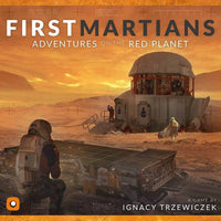 First Martians: Adventures on the Red Planet - Board Game - The Dice Owl