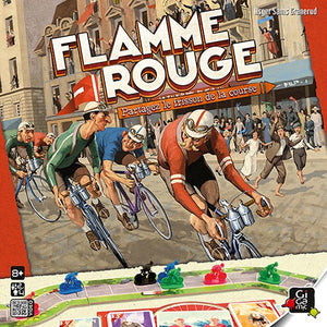 Flamme Rouge - Board Game - The Dice Owl