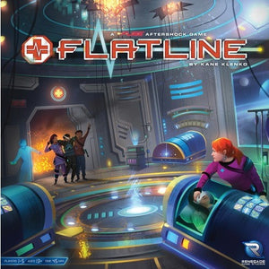 Flatline: A FUSE Aftershock Game - Board Game - The Dice Owl