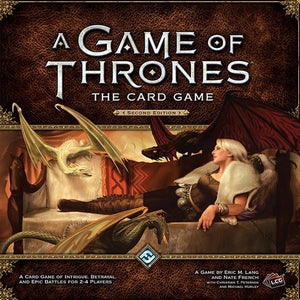 A Game of Thrones: The Card Game (Second Edition) - Board Game - The Dice Owl