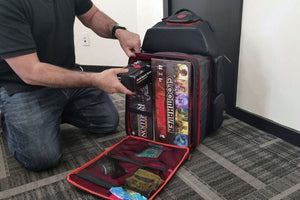 Ultimate Board Game Backpack fit