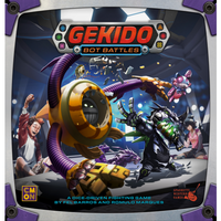 Gekido: Bot Battles - Board Game - The Dice Owl