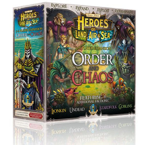 Heroes of Land Air Sea Expansion Order and Chaos