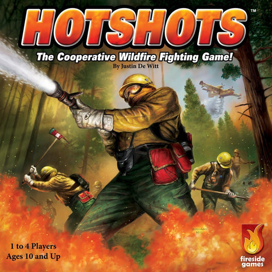 Hotshots - Board Game - The Dice Owl