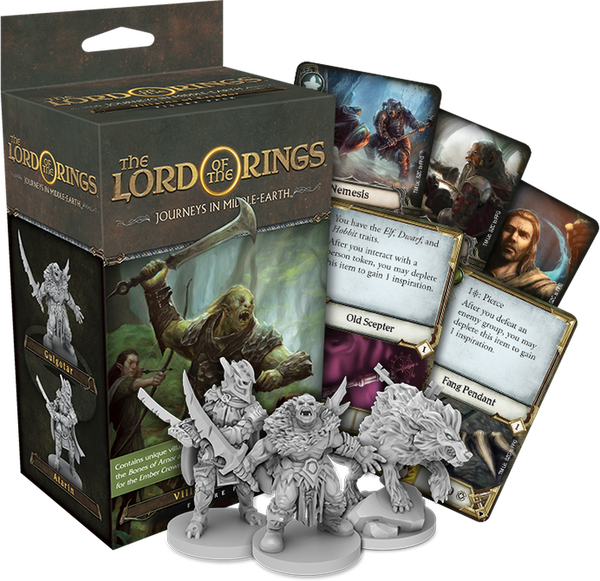 The Lord of the Rings: Journeys in Middle-earth: Villains of Eriador - The Dice Owl