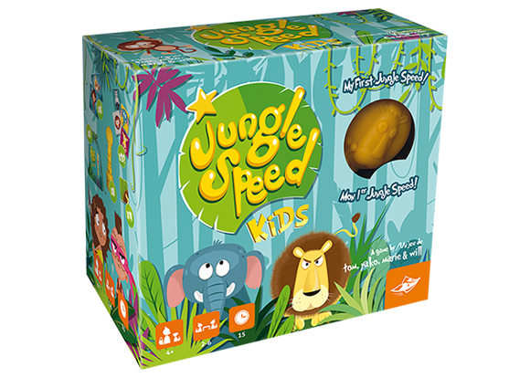 Jungle Speed Kids Canada - The Dice Owl