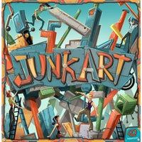 Junk Art - Board Game - The Dice Owl