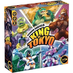 King of Tokyo: 2nd Edition - Board Game - The Dice Owl