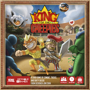King of the Creepies - Board Game - The Dice Owl