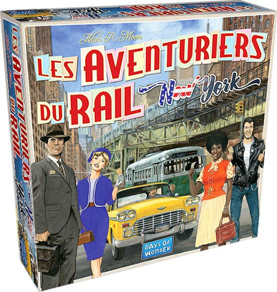Aventuriers du Rail: New York (FR) - Board Game - The Dice Owl
