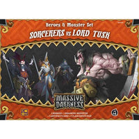 Massive Darkness: Heroes & Monster Set – Sorcerers vs Lord Tusk - Board Game - The Dice Owl