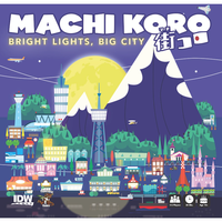 Machi Koro: Bright Lights, Big City - Board Game - The Dice Owl
