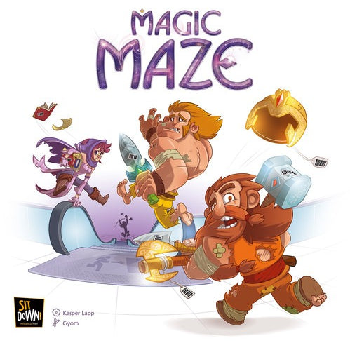 Magic Maze - Board Game - The Dice Owl