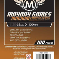 Mayday - Standard Magnum 7 Wonders Sleeves 65mm x 100mm (100CT)