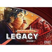 Pandemic Legacy: Season 1 - Red Edition - Board Game - The Dice Owl