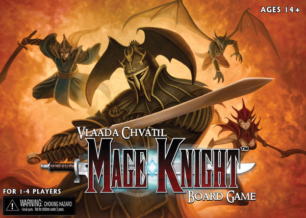 Mage Knight Board Game - The Dice Owl