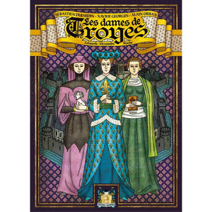 The Ladies Of Troyes - Board Game - The Dice Owl