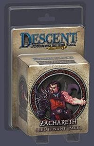 Descent: Journeys in the Dark (Second Edition) – Zachareth Lieutenant Pack - Board Game - The Dice Owl