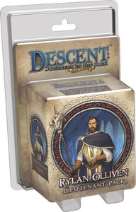 Descent: Journeys in the Dark (Second Edition) – Rylan Olliven Lieutenant Pack - Board Game - The Dice Owl