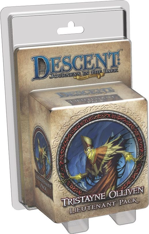Descent: Journeys in the Dark (Second Edition) – Tristayne Olliven Lieutenant Pack - Board Game - The Dice Owl