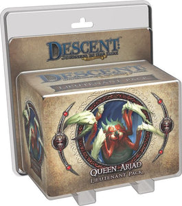 Descent: Journeys in the Dark (Second Edition) – Queen Ariad Lieutenant Pack - Board Game - The Dice Owl