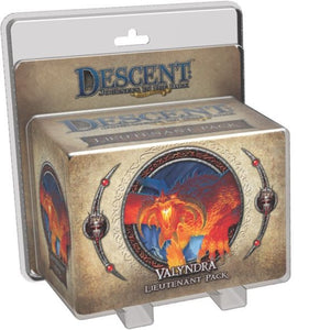 Descent: Journeys in the Dark (Second Edition) – Valyndra Lieutenant Pack - Board Game - The Dice Owl