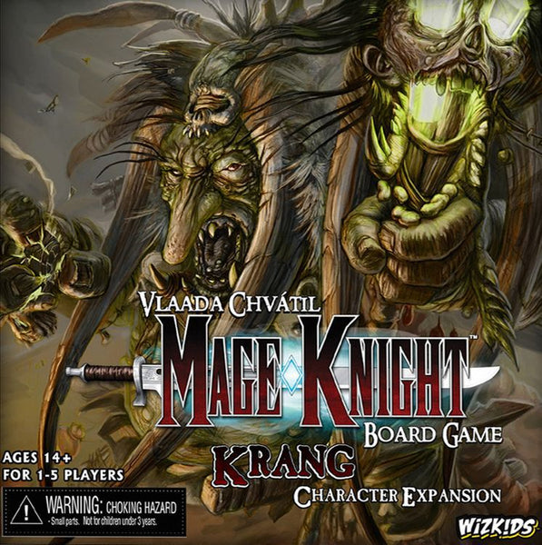 Mage Knight Board Game: Krang Character Expansion - The Dice Owl