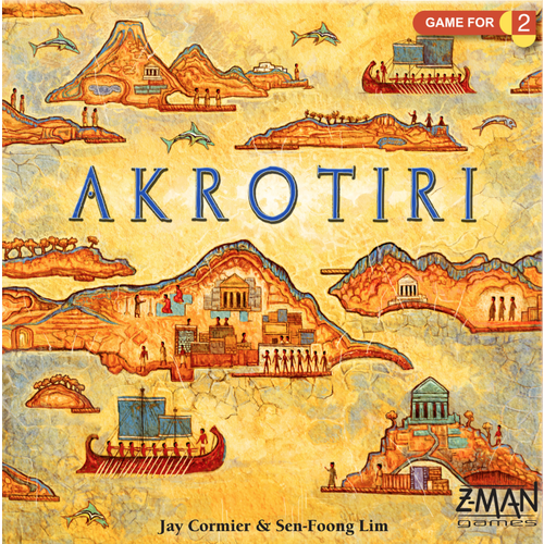 Akrotiri [Revised Edition] - Board Game - The Dice Owl