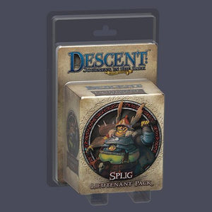Descent: Journeys in the Dark (Second Edition) – Splig Lieutenant Pack - Board Game - The Dice Owl