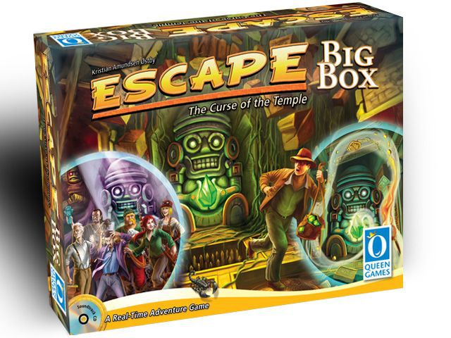Escape: The Curse of the Temple – Big Box - The Dice Owl