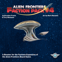 Alien Frontiers: Faction Pack #4 - Board Game - The Dice Owl