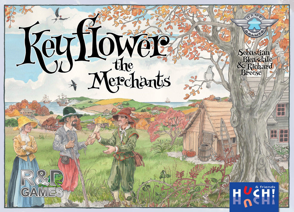 Keyflower: The Merchants - The Dice Owl