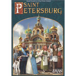 Saint Petersburg (Second Edition) - Board Game - The Dice Owl