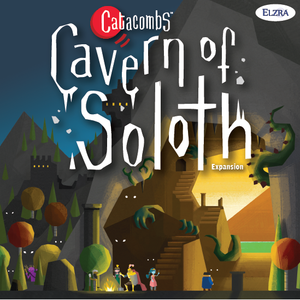 Catacombs: Cavern of Soloth (third edition) - Board Game - The Dice Owl