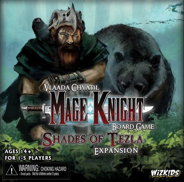 Mage Knight Board Game: Shades of Tezla Expansion - The Dice Owl