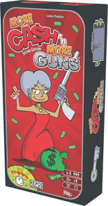 Ca$h 'n Guns (Second Edition): More Cash 'n More Guns - Board Game - The Dice Owl