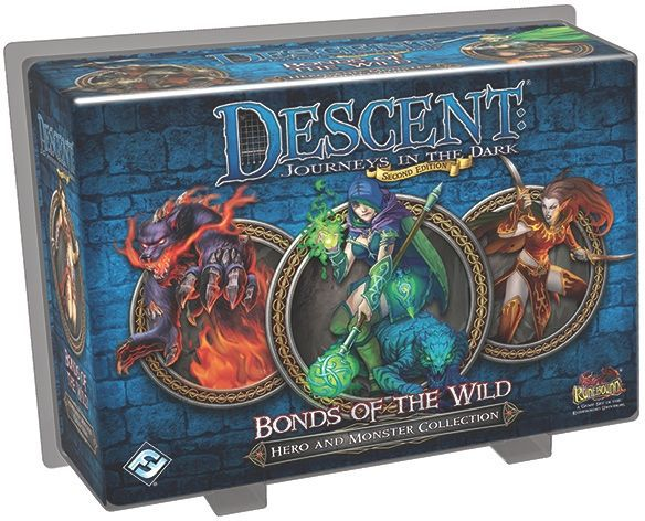 Descent: Bonds of the Wild - Board Game - The Dice Owl