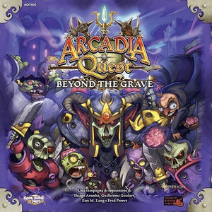 Arcadia Quest: Beyond the Grave - Board Game - The Dice Owl