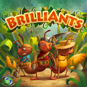 BrilliAnts - Board Game - The Dice Owl