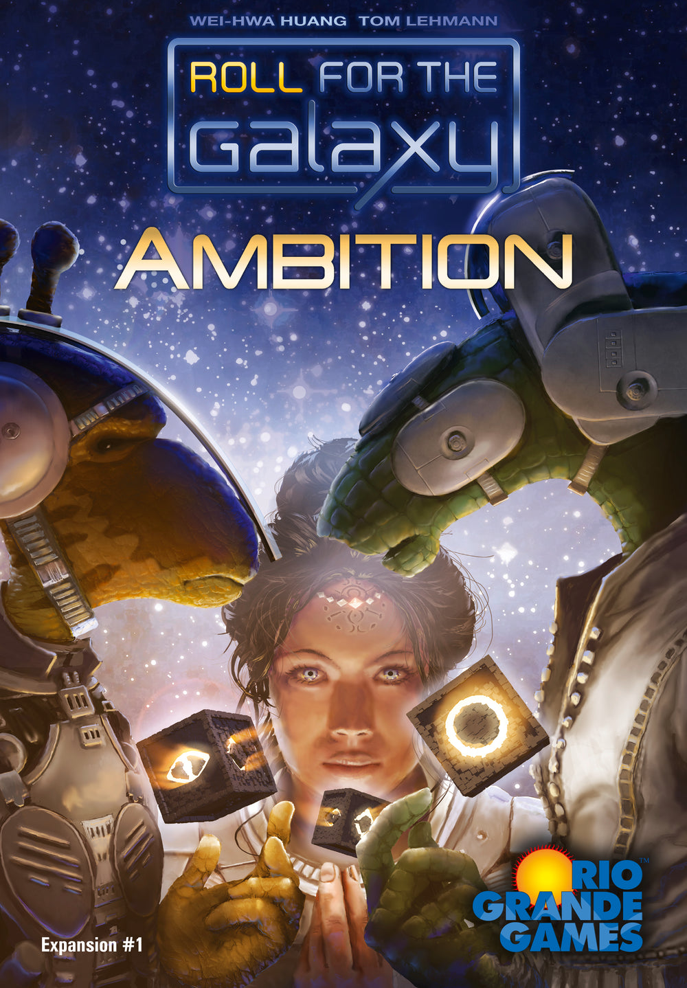 Roll for the Galaxy: Ambition - The Dice Owl
