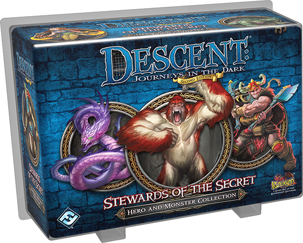 Descent: Stewards of Secret - Board Game - The Dice Owl