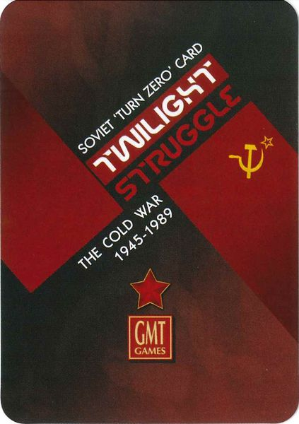 Twilight Struggle: Turn Zero Expansion - The Dice Owl