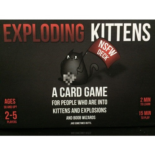 Exploding Kittens: NSFW Deck - Board Game - The Dice Owl