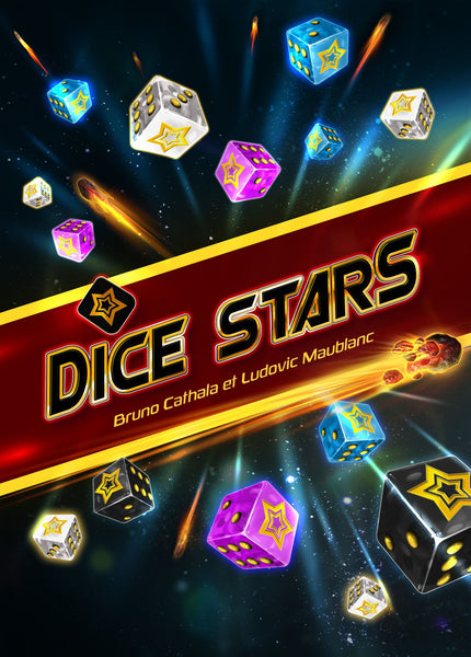 Dice Stars - Board Game - The Dice Owl